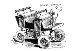 Garrard Bloomfield's Electric Car. 1896