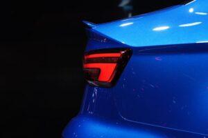 blue tailgate